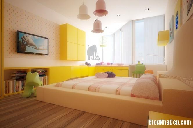 mau sac 3 1348305578 Gợi ý cách phối màu cho phòng của bé