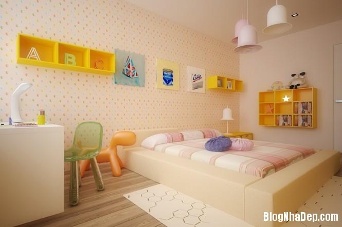 mau sac 4 1348305592 Gợi ý cách phối màu cho phòng của bé