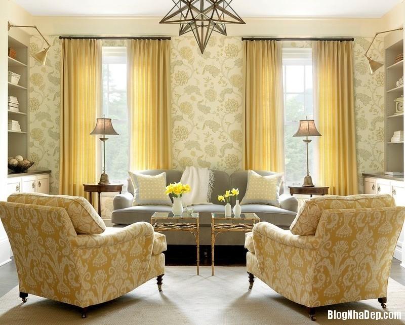 tong vang su lua chon tuyet voi deponline 4 Chọn tông màu vàng cho nội thất nhà ở