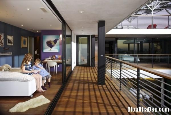 124b12c6ee1940421485ea0e7b806f98 Ngôi nhà xanh Green Greenberg với kiến trúc sang trọng nằm tại Los Angeles, California