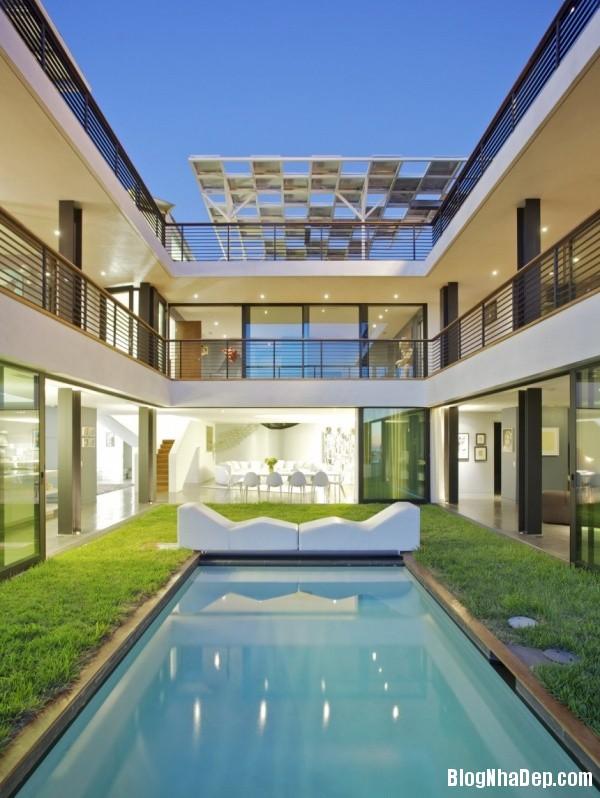 333602ebf4ed8da67077b3bcb81cfa50 Ngôi nhà xanh Green Greenberg với kiến trúc sang trọng nằm tại Los Angeles, California