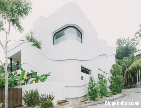 6b199c0d83db3569f466162f0db7e428 Ngôi nhà xanh Green Greenberg với kiến trúc sang trọng nằm tại Los Angeles, California