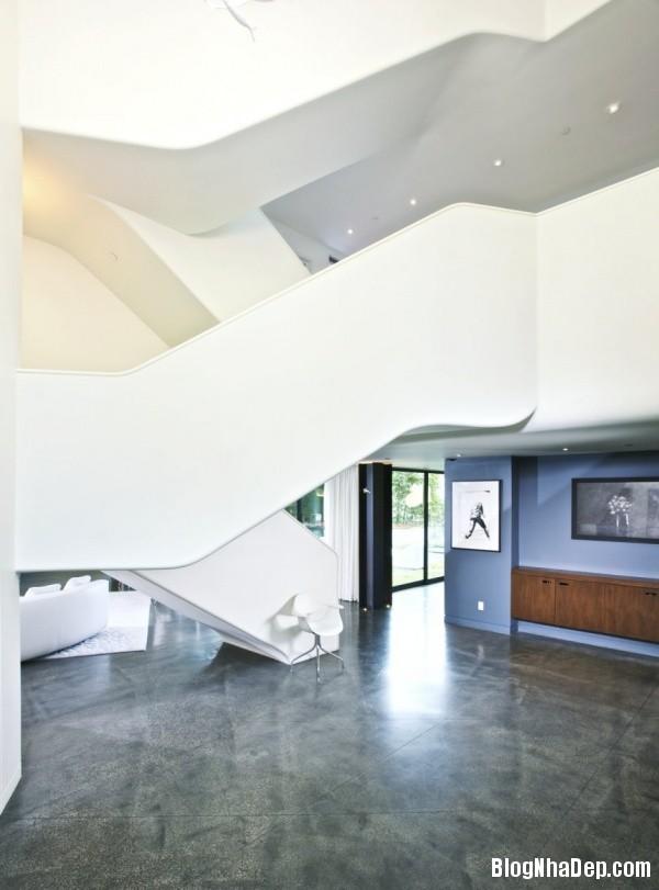 7427b2737816f94cabc63a22dcf50b4b Ngôi nhà xanh Green Greenberg với kiến trúc sang trọng nằm tại Los Angeles, California