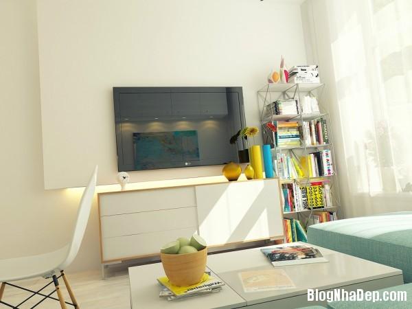 82bf2f4632f61c8e12afc8221bdd3b1f Sống gọn gàng trong căn hộ 29 mét vuông