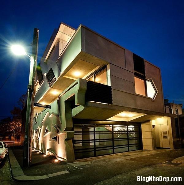 d87ab828bd917e40065dcae361a23876 Ngôi nhà ấn tượng gợi nhớ tới những bức vẽ graffiti bắt mắt trên đường phố