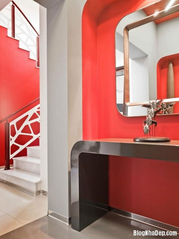 e6406b85fdb1257b642ad67ceb079d88 Ngôi nhà sinh động với họa tiết trang trí và không gian mang đậm chất retro