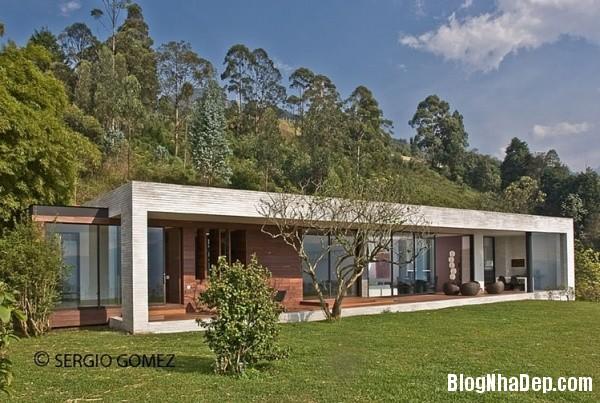 ed16fddcf0af752968bd2c75e0588c3b Ngôi nhà ấn tượng với vị trí nằm cheo leo ngay bên sườn đồi xanh mát của vùng Medellin, Colombia