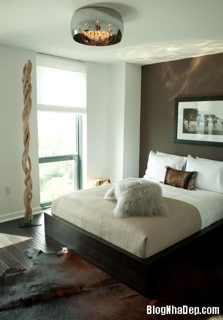 00b6254a8f078916e03bbbc8b813d08c Bức tường màu đen cá tính trong phòng ngủ