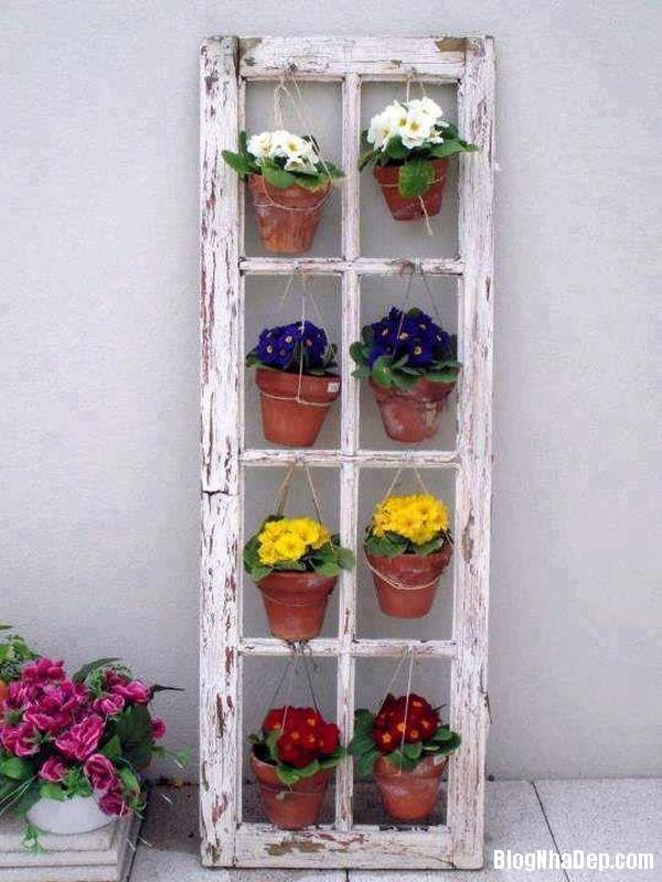 17de9ecaf594959fe371b96172b20bd3 Tận dụng đồ cũ để trang trí cho vườn nhà thêm ấn tượng