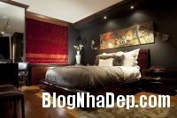 375736 a Bức tường màu đen cá tính trong phòng ngủ