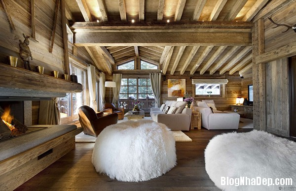 468b0e170a67effad628ffcbd8256588 Ngôi nhà gỗ ấm áp trên đỉnh Alps tuyết trắng