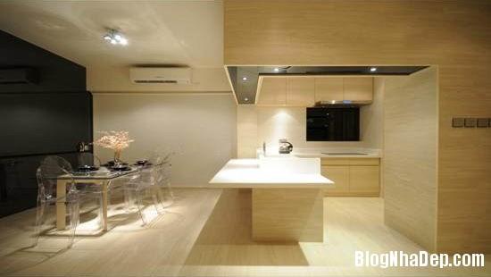 4a64b88f4b1d41ad656588afd32c1d5c Căn hộ hiện đại được thiết kế theo phong cách tối giản với tông màu kem