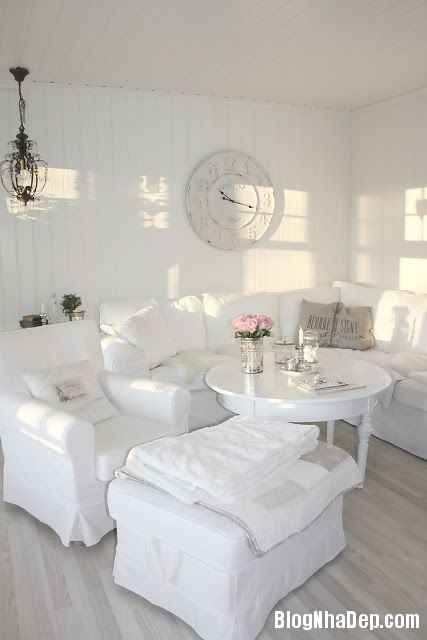 4deac60a6259902c763f33292c11f391 Trang trí phòng khách đẹp với gam màu trắng