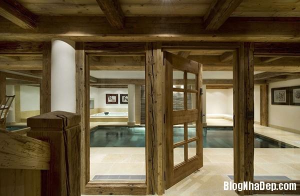 69bde7fe643394b692601847baef8598 Ngôi nhà gỗ ấm áp trên đỉnh Alps tuyết trắng