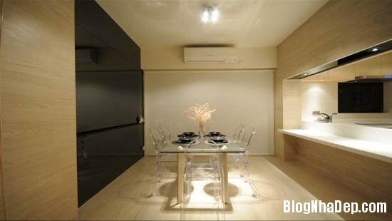 87c5705afef17bef53d469eff0156819 Căn hộ hiện đại được thiết kế theo phong cách tối giản với tông màu kem