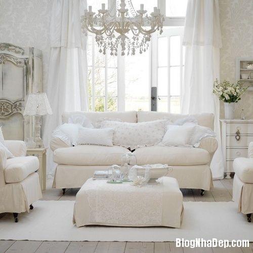 926cae6ad5d0aeeda8845c5d9aa5ca43 Trang trí phòng khách đẹp với gam màu trắng