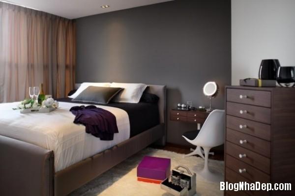 9e79c860518fad8503d926831b8f73a5 Bức tường màu đen cá tính trong phòng ngủ