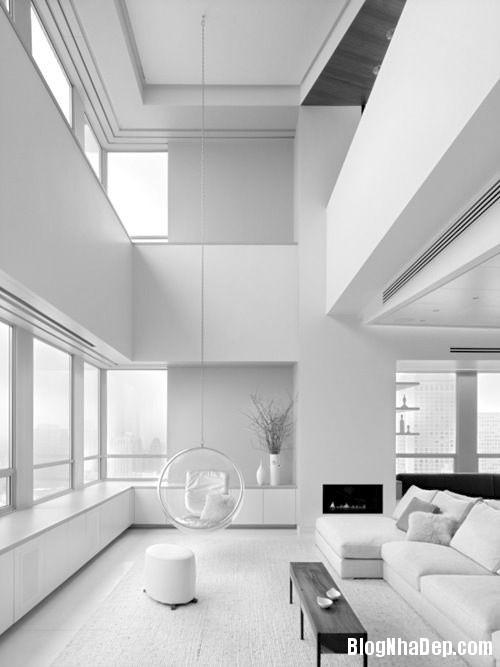 d17534fdd933e2d70a5264ad5bf86550 Trang trí phòng khách đẹp với gam màu trắng
