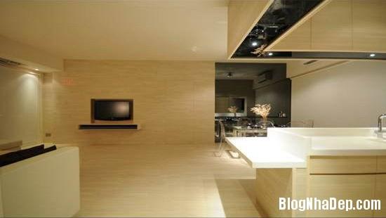 e0f0bf1ff3bb2547a2a240438ca70591 Căn hộ hiện đại được thiết kế theo phong cách tối giản với tông màu kem