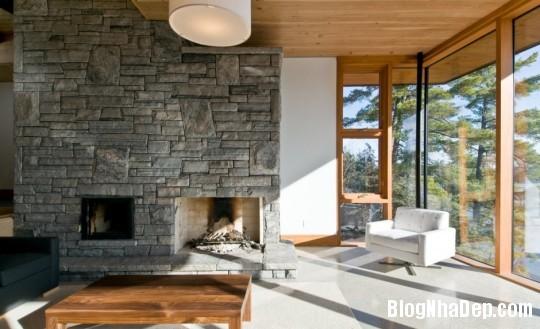 18d54fa24b36b5dbd012a9e75d987dde Ngôi nhà bằng gỗ bên bờ hồ yên bình Muskoka,Canada