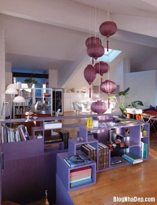 1e38df422b0cb35d632ac4064ca9db63 Căn nhà lãng mạn với tông màu tím ngọt ngào