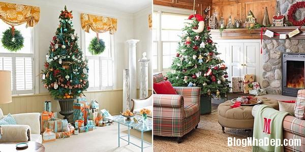 Trang hoàng phòng khách bắt mắt chuẩn bị cho mùa giáng sinh