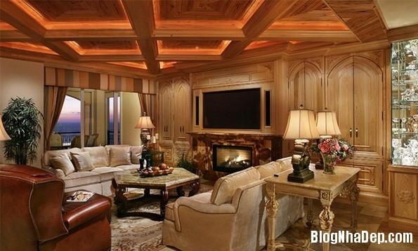 6540da18e11a82aaa193e1578923e050 Mẫu phòng khách truyền thống có thiết kế trần nhà chia ô