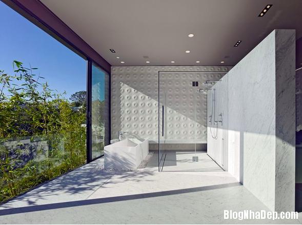 Ng i nh sang tr ng h a m nh v o thi n nhi n blog nh for Dwell bathroom designs