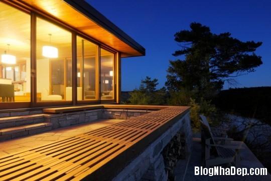 9438b8c0eb7192c269eb645ca6d63ab4 Ngôi nhà bằng gỗ bên bờ hồ yên bình Muskoka,Canada