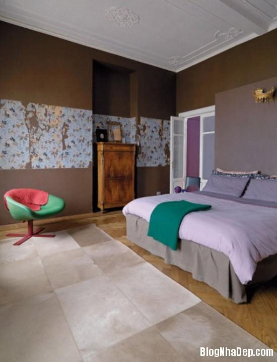 94557d8afe127cecedca470bd7b409c5 Căn nhà lãng mạn với tông màu tím ngọt ngào