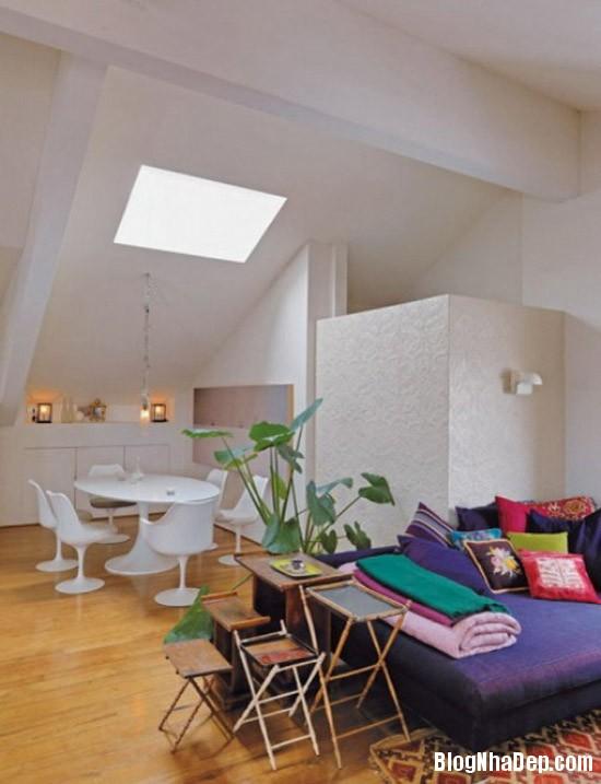 96b073aae5f9d22bd2a83968201a12ee Căn nhà lãng mạn với tông màu tím ngọt ngào