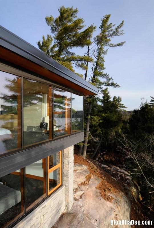 b08e793e9acaad84568f684fed6706e5 Ngôi nhà bằng gỗ bên bờ hồ yên bình Muskoka,Canada