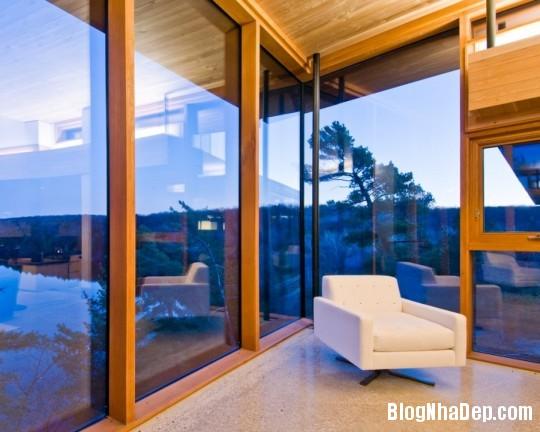 b7037ea4954db7e68ec5658409c22df4 Ngôi nhà bằng gỗ bên bờ hồ yên bình Muskoka,Canada