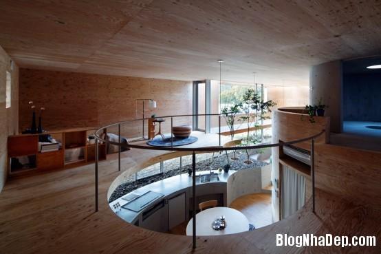 bbcb35a1c2f47aa97c3379d9f00b3d4e Ngôi nhà hình vòng cung hiện đại và vô cùng sang trọng