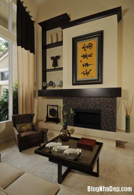 c1881695df6be406cea810d4ba415045 Phòng khách gần gũi được trang trí mang đậm dấu ấn Á Đông