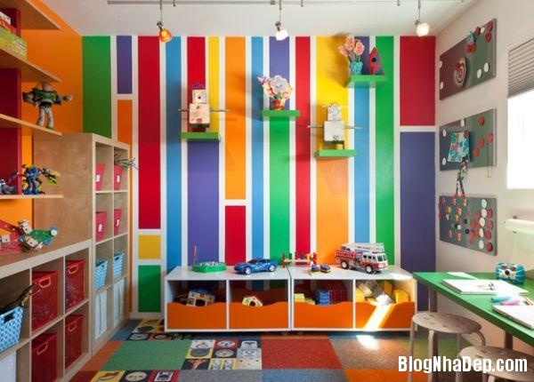0ab435be99823dc491ac237984e57a6d Những mẫu thiết kế phòng trẻ em vui tươi và sống động