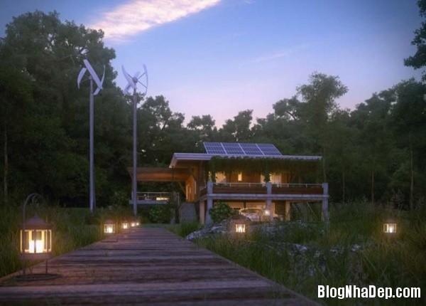 270b0bda2dda7299b147f2ca9a75adb4 Ngôi nhà tinh khôi với kiến trúc độc đáo nằm giữa khu rừng yên tĩnh
