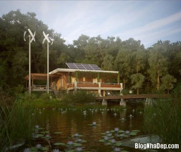 61ec123a66bccdea711be3712a7bd804 Ngôi nhà tinh khôi với kiến trúc độc đáo nằm giữa khu rừng yên tĩnh