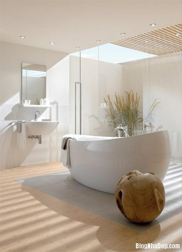 78cc55fe94517b17f075564ebf3f64b4 Những chiếc bồn tắm được thiết kế sang trọng với sắc trắng tinh khôi