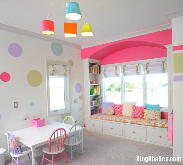 b9bfee2f09087e692b6ea1709382b14f Những mẫu thiết kế phòng trẻ em vui tươi và sống động