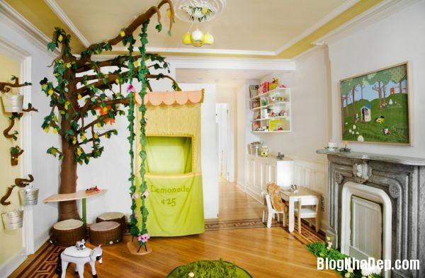 d8d197b93ddefb287a266019465133e8 Những mẫu thiết kế phòng trẻ em vui tươi và sống động