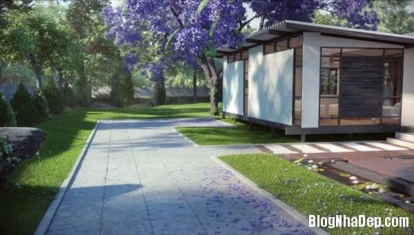 f827639e7b922229a6f286cb5d36e8f3 Ngôi nhà tinh khôi với kiến trúc độc đáo nằm giữa khu rừng yên tĩnh