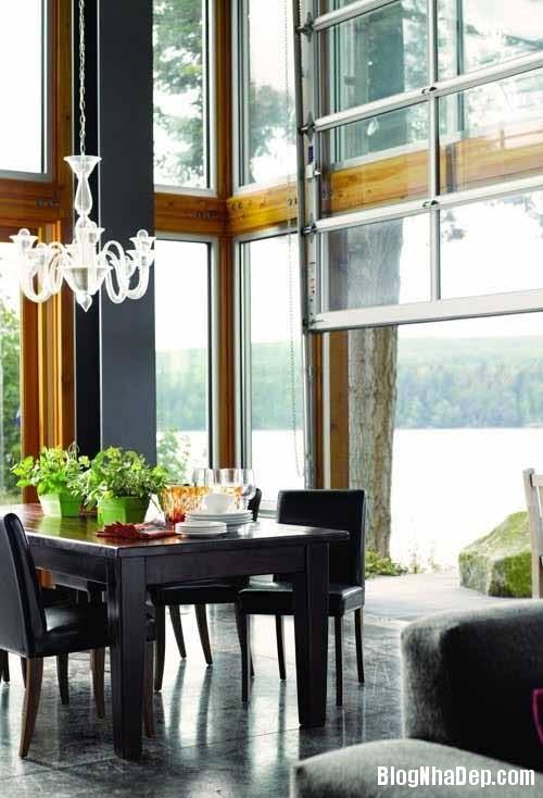 fc9e7ff3502359b3947aa0251dd31ea2 Ngôi nhà gỗ và kính lọt thỏm giũa những tán cây xanh tốt