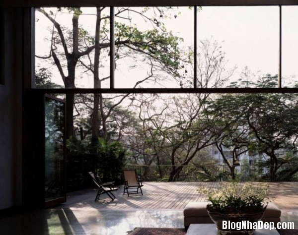 0b8de589073302fb1ce04b449cb49fca Ngôi nhà miền quê bình yên với hồ sen trong nhà