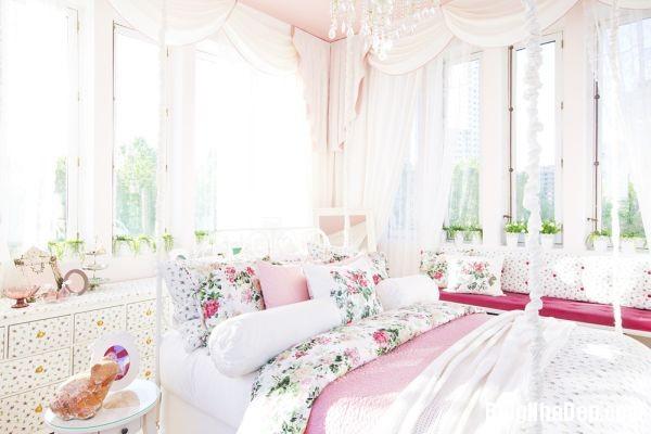 111ba1fa43f3301bfcb273d9aeba8811 Ngôi nhà màu hồng bước ra từ trong truyện cổ tích