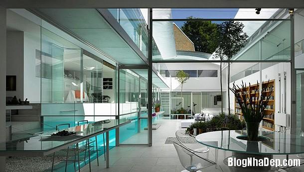 70cac8c73524d006c73a0da601ee44d0 Ngôi nhà bằng kính với thiết kế không gian mở hiện đại và thoáng đãng