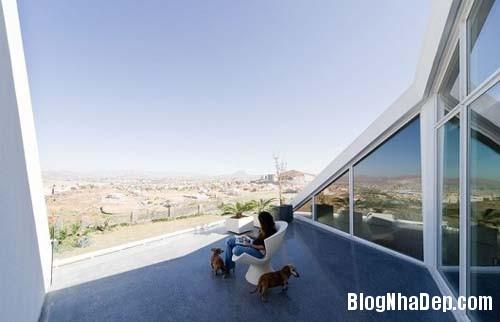 92af773b529b71a941775adda252221b Ngôi nhà với kiến trúc khá lập dị giữa lòng sa mạc bỏng rát của Mexico