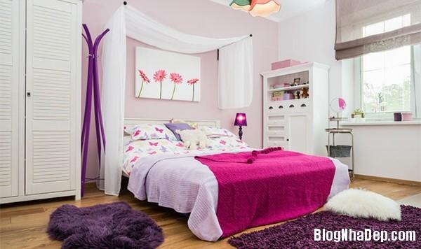 1f71e5d83c82424f9bbcde497e811ea0 Kiểu giường ngủ đáng yêu và nữ tính cho phòng công chúa