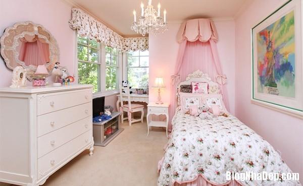 97ce95585de12dcf8d3aee9e96207abd Kiểu giường ngủ đáng yêu và nữ tính cho phòng công chúa