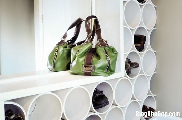 b2b95062301503e202ae66f8c8c13f4e Thiết kế chỗ đựng giày khá xinh và lạ từ cầu thang cũ hay tấm ván cũ